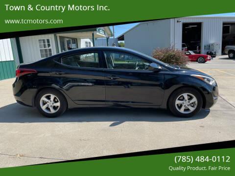 2014 Hyundai Elantra for sale at Town & Country Motors Inc. in Meriden KS