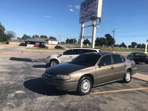 2002 Chevrolet Impala for sale at Patriot Auto Sales in Lawton OK