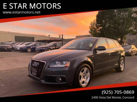 2011 Audi A3 for sale at E STAR MOTORS in Concord CA