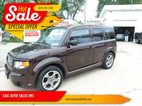 2007 Honda Element for sale at C&C AUTO SALES INC in Charles City IA