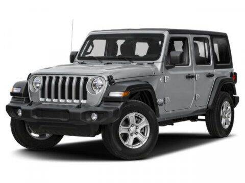 2018 Jeep Wrangler Unlimited for sale at Griffin Buick GMC in Monroe NC