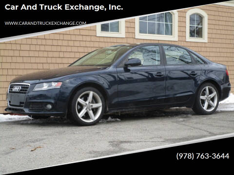 2011 Audi A4 for sale at Car and Truck Exchange, Inc. in Rowley MA