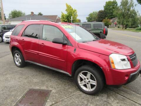 2005 Chevrolet Equinox for sale at Car Link Auto Sales LLC in Marysville WA