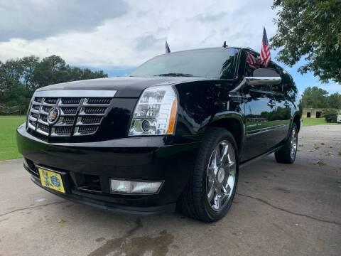 2014 Cadillac Escalade ESV for sale at Rivera Auto Group in Spring TX