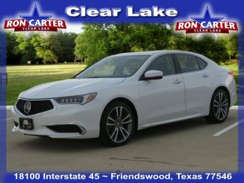 2019 Acura TLX for sale at Ron Carter  Clear Lake Used Cars in Houston TX