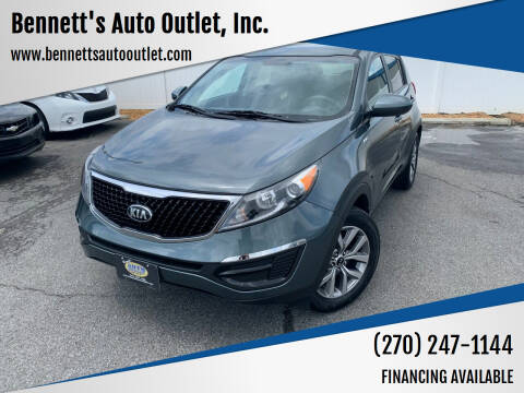 2015 Kia Sportage for sale at Bennett's Auto Outlet, Inc. in Mayfield KY