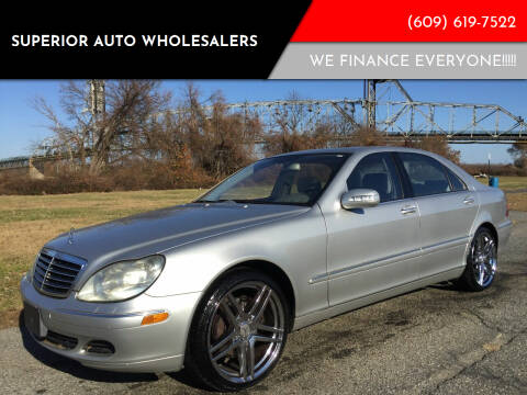 2006 Mercedes-Benz S-Class for sale at Superior Auto Wholesalers in Burlington City NJ