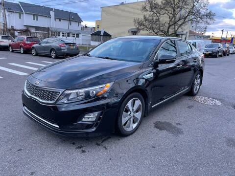 2014 Kia Optima Hybrid for sale at Kapos Auto, Inc. in Ridgewood, Queens NY