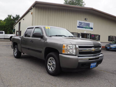 2009 Chevrolet Silverado 1500 for sale at Crestwood Auto Sales in Swansea MA