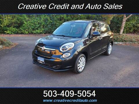 2014 FIAT 500L for sale at Creative Credit & Auto Sales in Salem OR