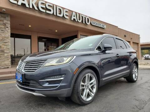 2015 Lincoln MKC for sale at Lakeside Auto Brokers Inc. in Colorado Springs CO