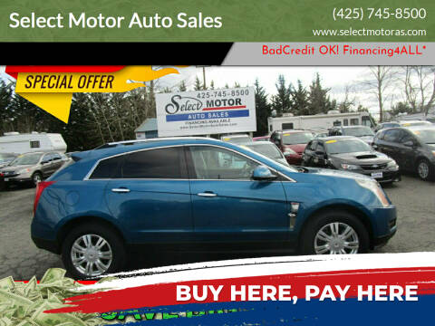 2010 Cadillac SRX for sale at Select Motor Auto Sales in Lynnwood WA