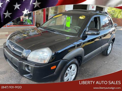 2006 Hyundai Tucson for sale at Liberty Auto Sales in Elgin IL