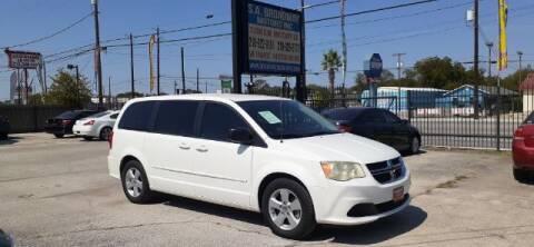 2013 Dodge Grand Caravan for sale at S.A. BROADWAY MOTORS INC in San Antonio TX