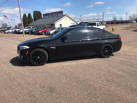 2011 BMW 5 Series for sale at BLAESER AUTO LLC in Chippewa Falls WI