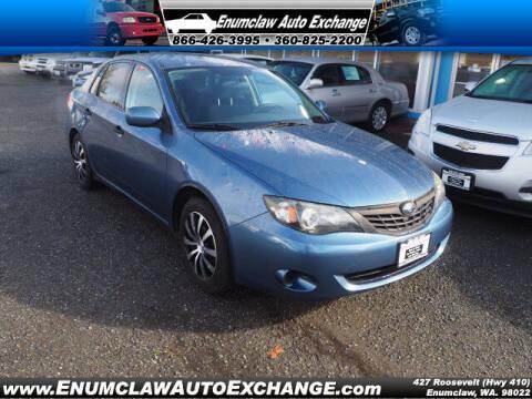 2008 Subaru Impreza for sale at Enumclaw Auto Exchange in Enumclaw WA