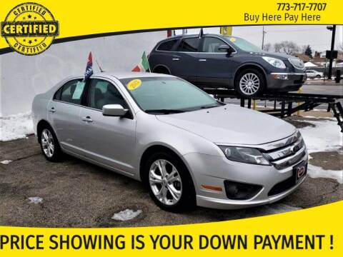 2012 Ford Fusion for sale at AutoBank in Chicago IL