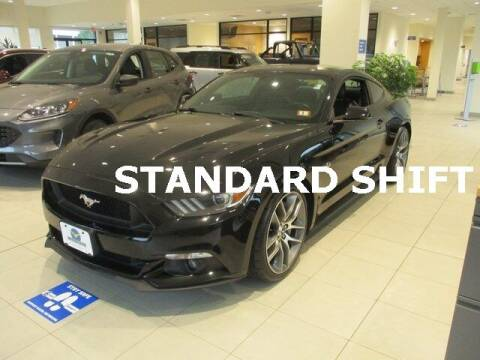 2016 Ford Mustang for sale at MC FARLAND FORD in Exeter NH