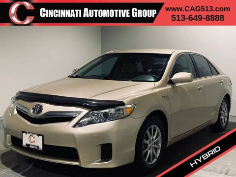 2011 Toyota Camry Hybrid for sale at Cincinnati Automotive Group in Lebanon OH