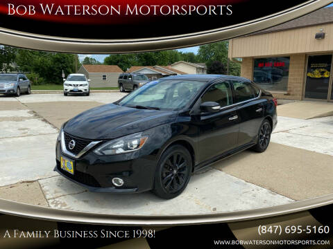 2017 Nissan Sentra for sale at Bob Waterson Motorsports in South Elgin IL