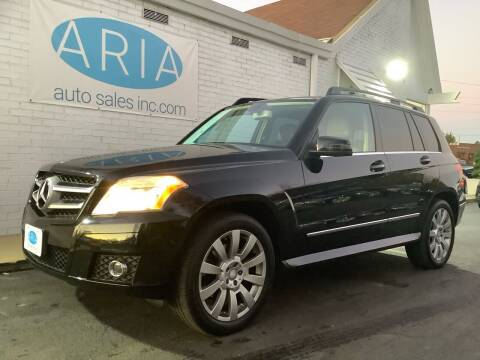 2010 Mercedes-Benz GLK for sale at ARIA AUTO SALES in Raleigh NC