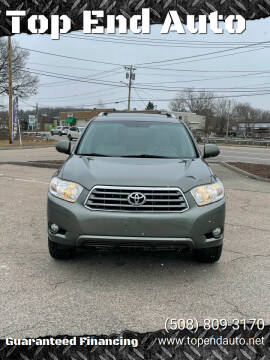 2009 Toyota Highlander for sale at Top End Auto in North Atteboro MA
