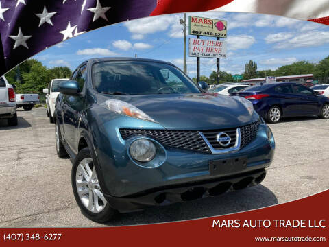 2011 Nissan JUKE for sale at Mars auto trade llc in Kissimmee FL