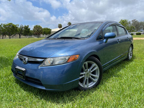 2006 Honda Civic for sale at FIRST FLORIDA MOTOR SPORTS in Pompano Beach FL
