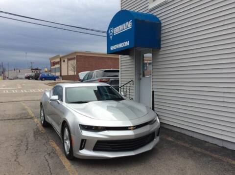 2016 Chevrolet Camaro for sale at Browning Chevrolet in Eminence KY