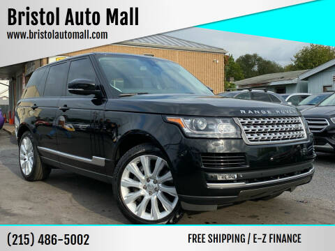 2015 Land Rover Range Rover for sale at Bristol Auto Mall in Levittown PA
