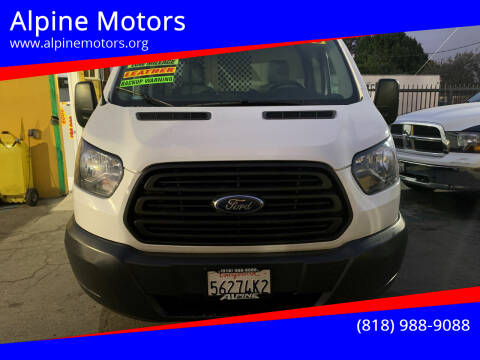 2017 Ford Transit Cargo for sale at Alpine Motors in Van Nuys CA