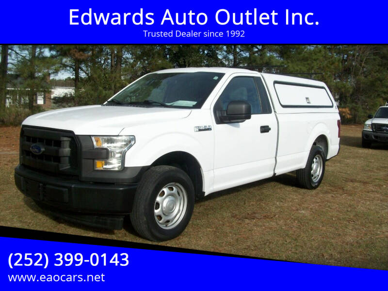 2017 Ford F-150 for sale at Edwards Auto Outlet Inc. in Wilson NC
