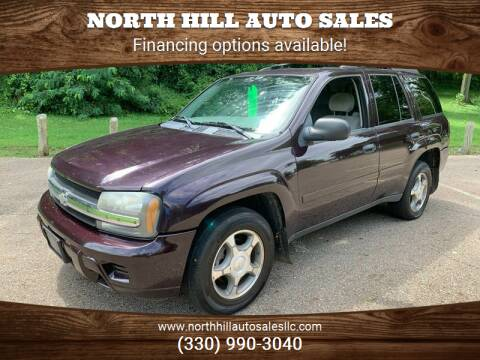 2008 Chevrolet TrailBlazer for sale at North Hill Auto Sales in Akron OH