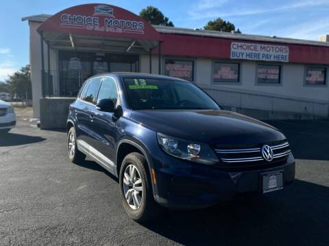 2013 Volkswagen Tiguan for sale at Choice Motors of Salt Lake City in West Valley  City UT
