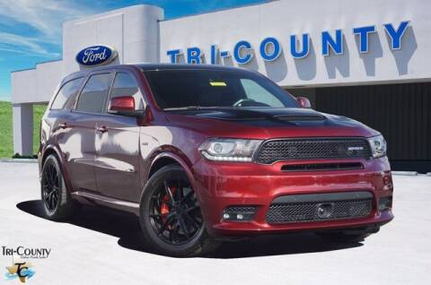 2018 Dodge Durango for sale at TRI-COUNTY FORD in Mabank TX