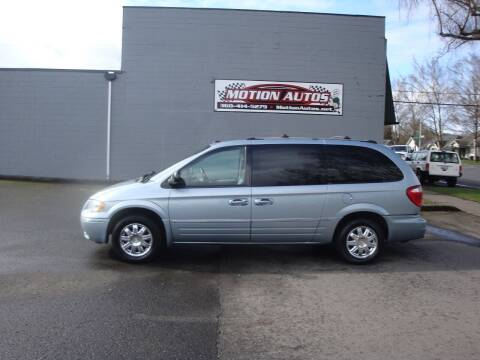 2005 Chrysler Town and Country for sale at Motion Autos in Longview WA