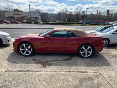 2014 Chevrolet Camaro for sale at State Line Motors in Bristol VA
