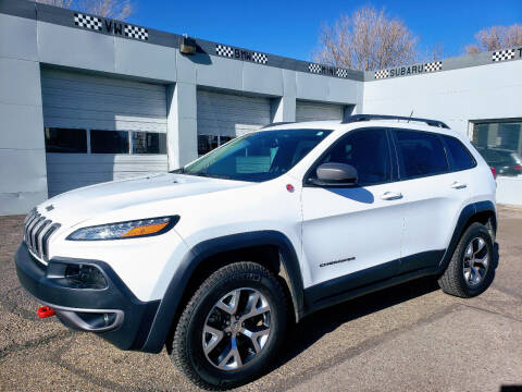 2015 Jeep Cherokee for sale at J & M PRECISION AUTOMOTIVE, INC in Fort Collins CO