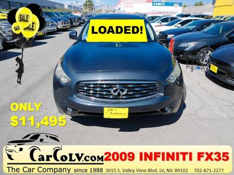 2009 Infiniti FX35 for sale at The Car Company in Las Vegas NV