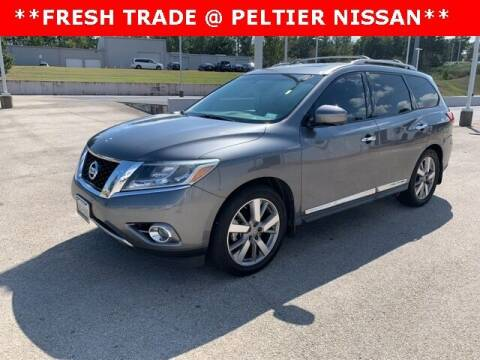 2016 Nissan Pathfinder for sale at TEX TYLER Autos Cars Trucks SUV Sales in Tyler TX
