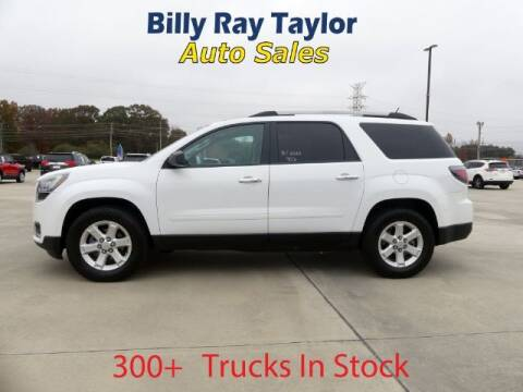 2016 GMC Acadia for sale at Billy Ray Taylor Auto Sales in Cullman AL