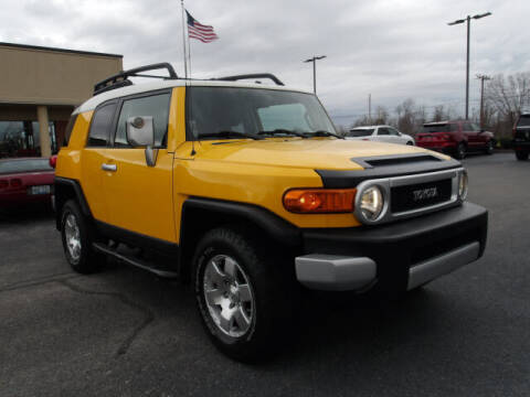 2007 Toyota FJ Cruiser for sale at TAPP MOTORS INC in Owensboro KY