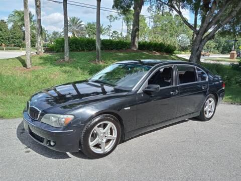 2007 BMW 7 Series for sale at Premier Motorcars in Bonita Springs FL