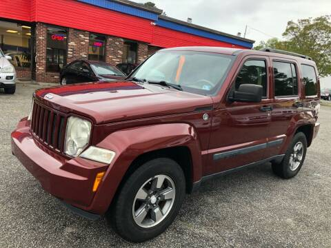 2008 Jeep Liberty for sale at HW Auto Wholesale in Norfolk VA