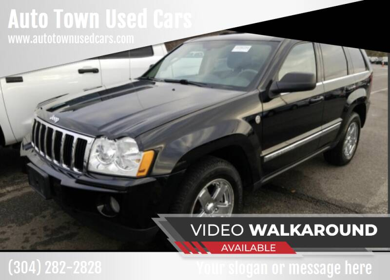 2007 Jeep Grand Cherokee for sale at Auto Town Used Cars in Morgantown WV