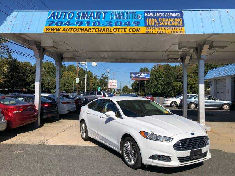 2014 Ford Fusion for sale at Auto Smart Charlotte in Charlotte NC
