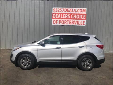 2014 Hyundai Santa Fe Sport for sale at Dealers Choice Inc in Farmersville CA