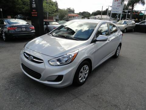 2016 Hyundai Accent for sale at DeWitt Motor Sales in Sarasota FL