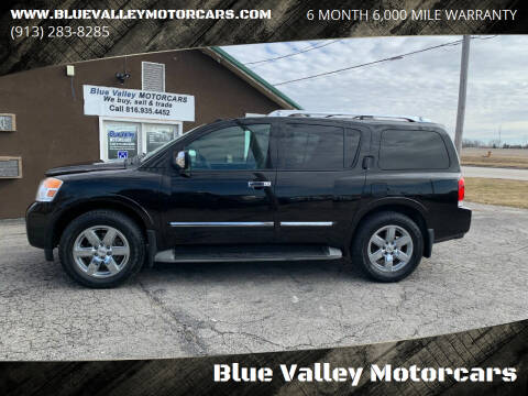 2011 Nissan Armada for sale at Blue Valley Motorcars in Stilwell KS