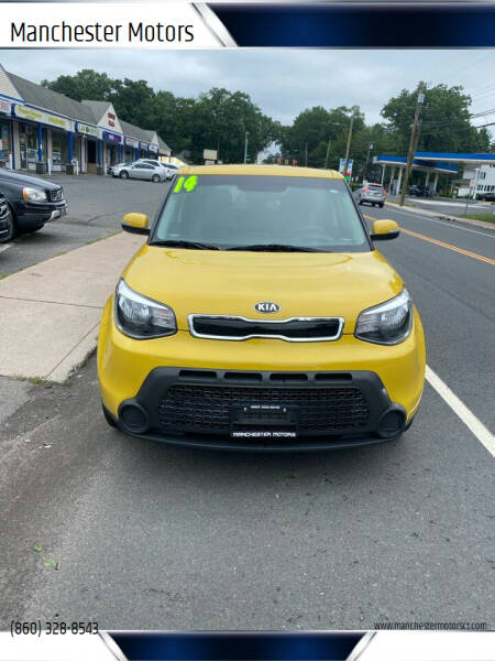 2014 Kia Soul for sale at Manchester Motors in Manchester CT